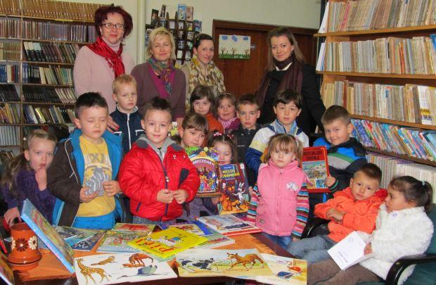 Zajednički snimak u Gradskoj biblioteci